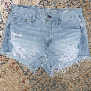 American Eagle Vintage Highrise Denim short